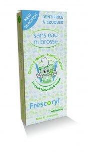 Pack de 10 comprimits individual del dentifrici masticable Frescoryl