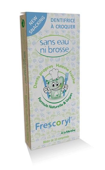 Dentifrici / Pasta de dents per mastegar vegà i cruelty free