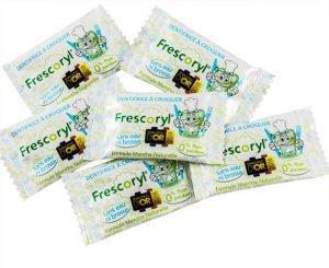 Comprimits masticables Frescoryl per emportar a tot arreu
