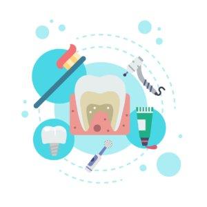 Pots seguir una serie d'accions per mantenir una correcta higiene de la boca