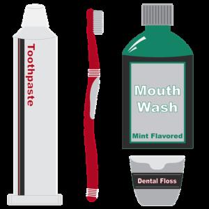 El raspall, l'elixir i el fil dental són importants per a la salut de les teves dents