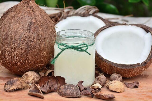 L'oli de coco es un component bo per a la salut i els productes ecologics