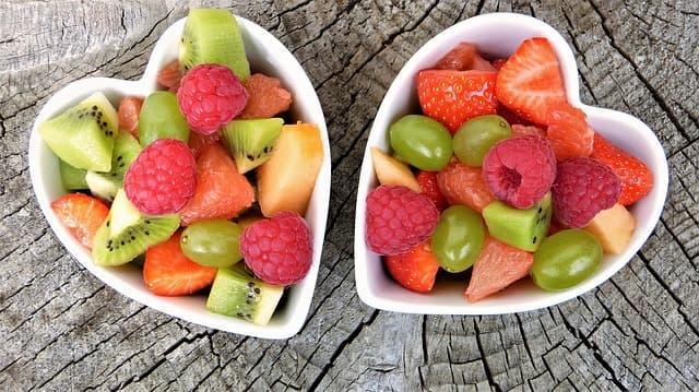 Amanida de fruites saludables