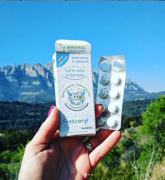 Frescoryl és un còmode dentifrici per portar a la muntanya