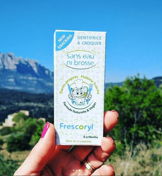 Frescoryl és un dentifrici vegà, natural i ecològic