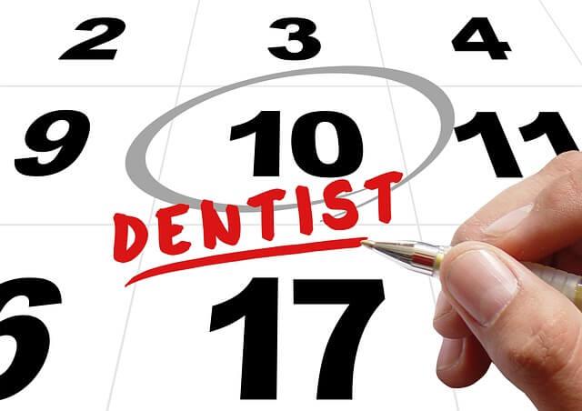 Tenir en ment la propera cita al dentista