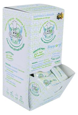 Frescoryl és la pasta de dents masticable que t'ajuda a cuidar la teva boca a la feina